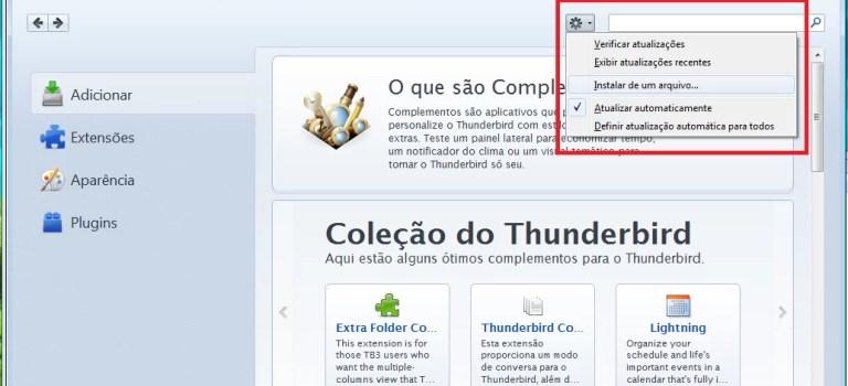 Tutorial: Importando arquivos .pst no Thunderbird