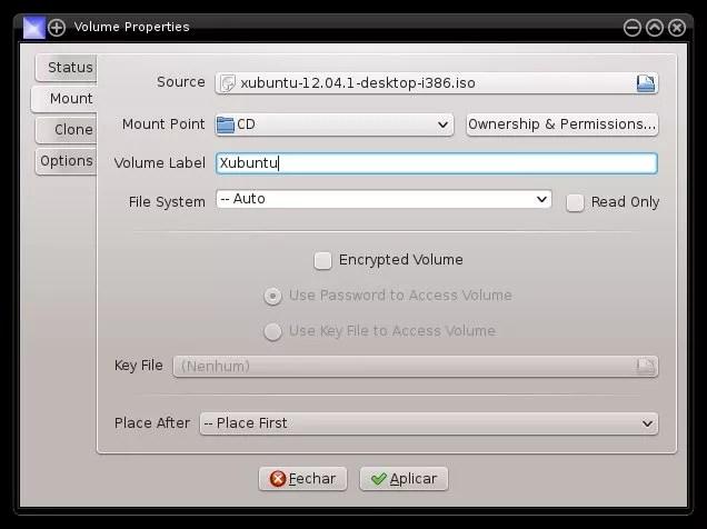 eMount - Configuração
