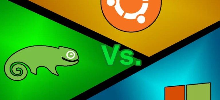 Comparação de Sistemas (OpenSUSE X Windows X Ubuntu)