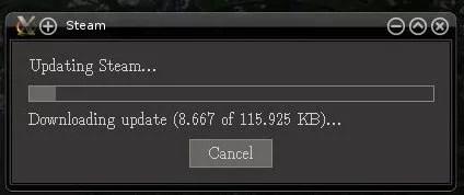 Atualizando Steam