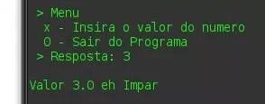 Par ou Impar - Java