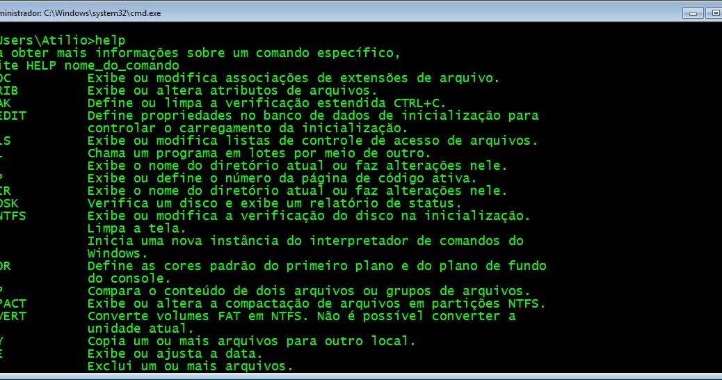 Prompt do Windows - estilo Matrix