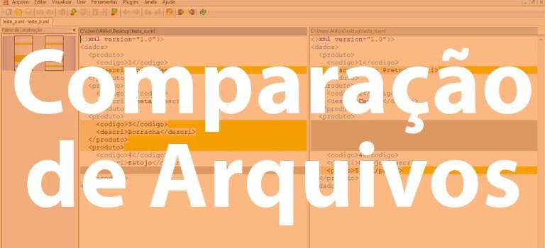 Comparando fontes com WinMerge