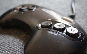 Controle do Mega Drive
