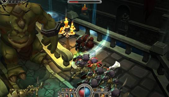Player action in Torchlight