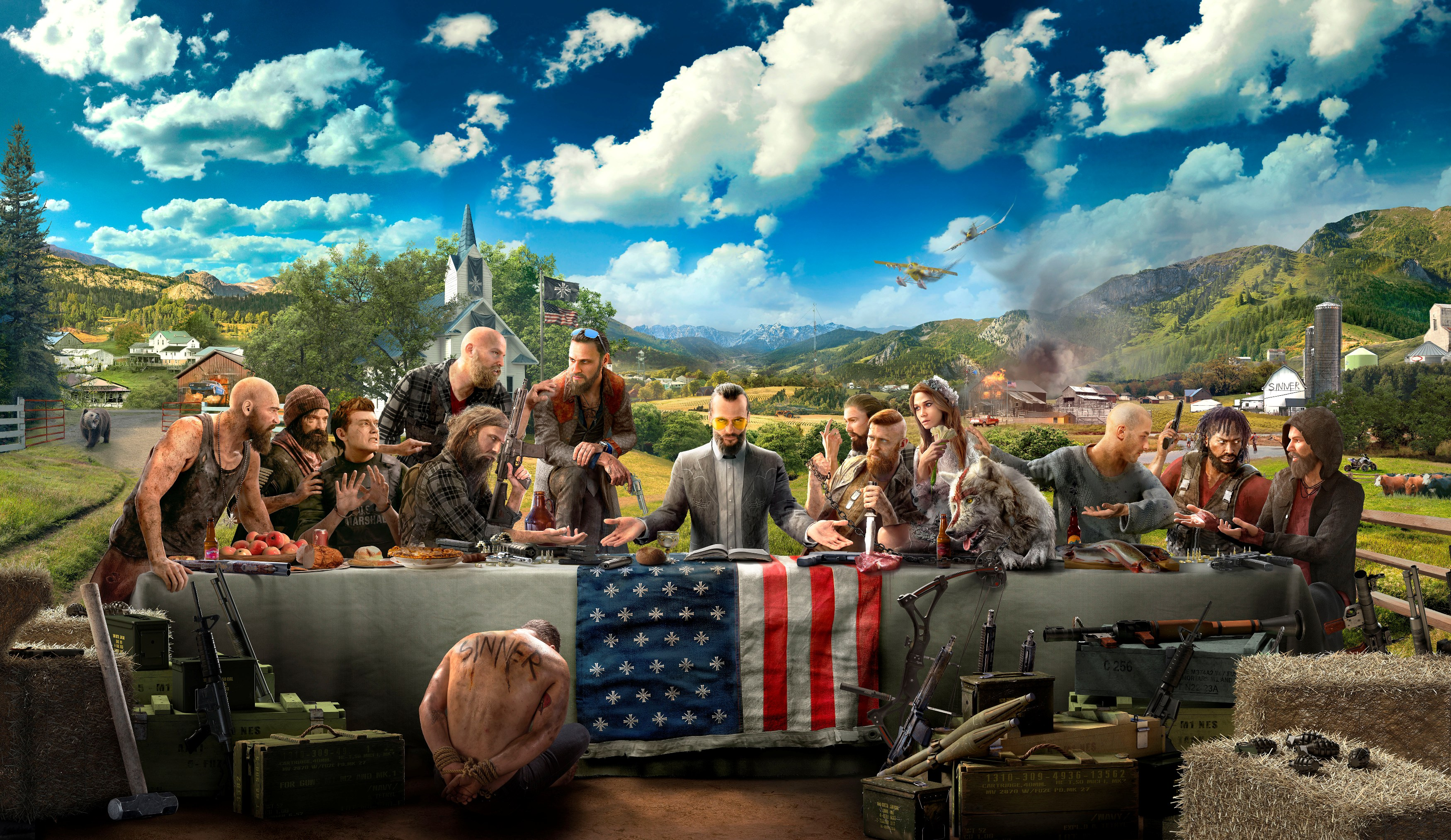 Far Cry 5 Preview: Freedom – Faith – Firearms