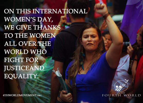 International Women's Day - ATD Fourth World