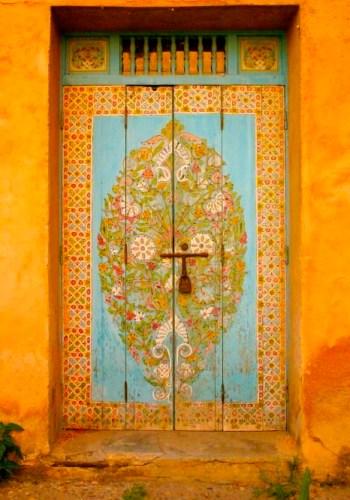 door to a new life