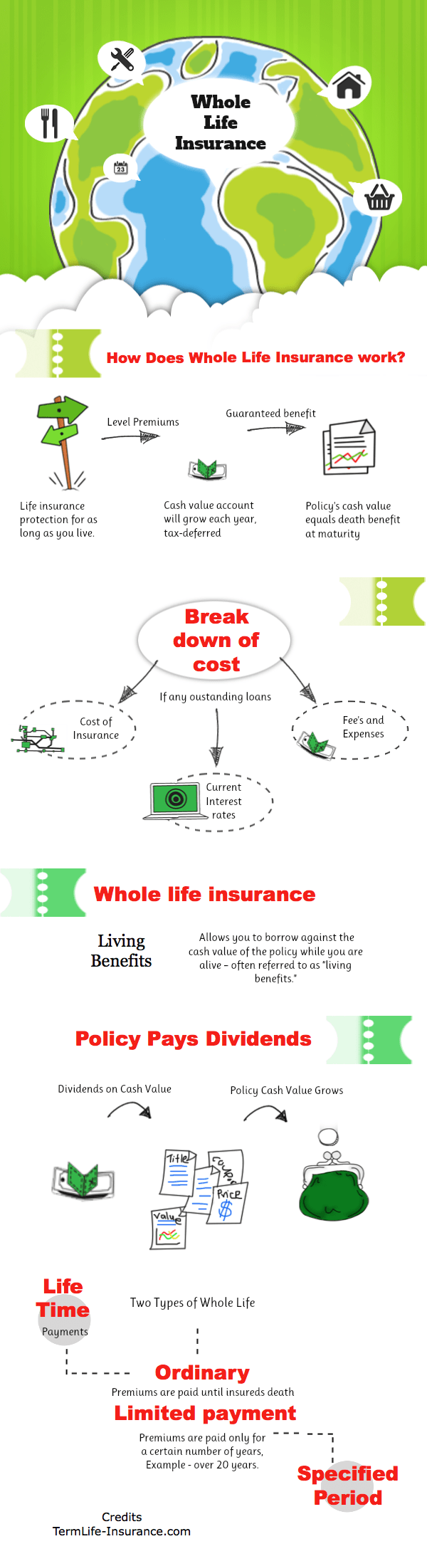 Beautiful Whole Life Insurance Quote Chart