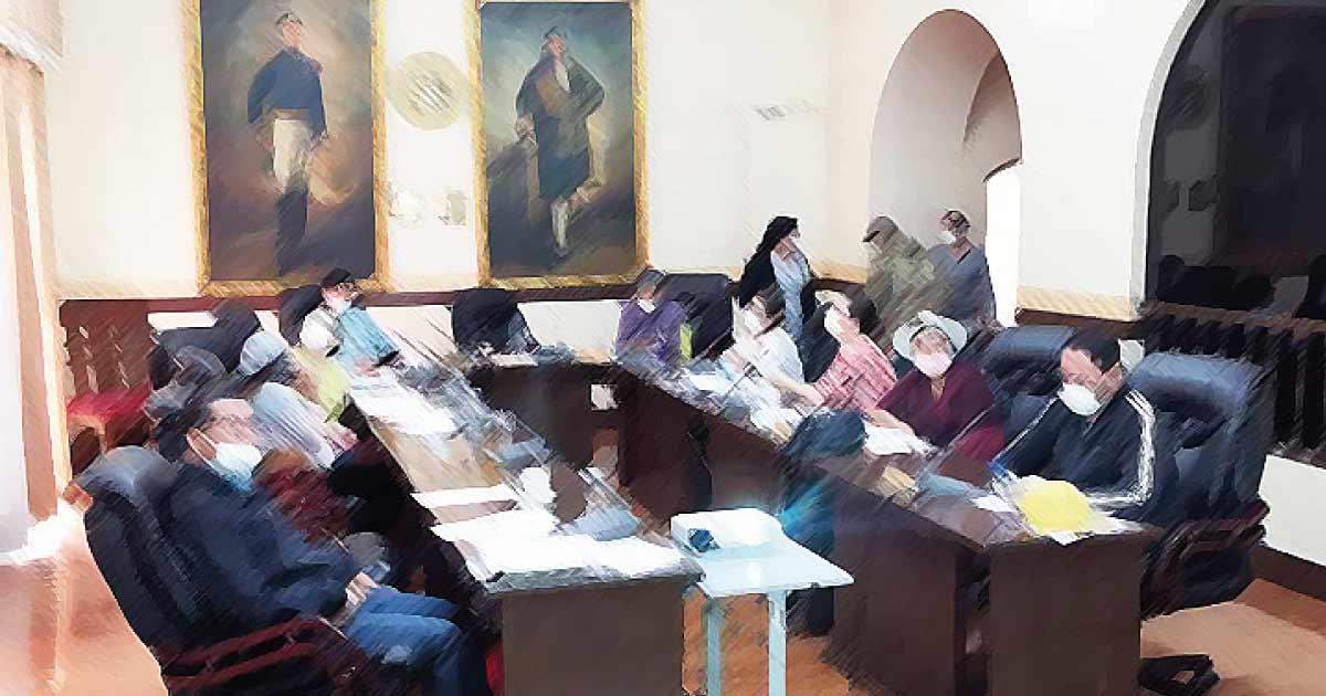 Sesión del Concejo Municipal de Cochabamba