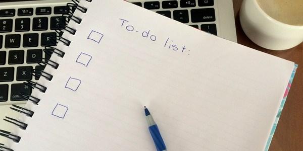 Menulis daily plan
