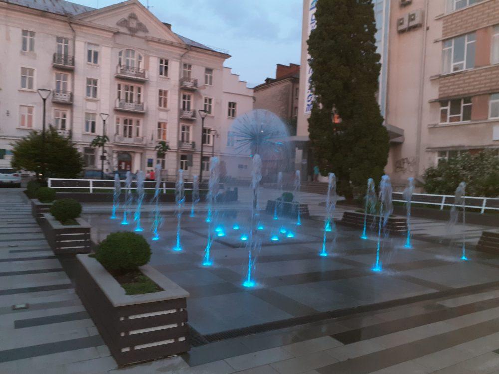 Місто фонтанів: усі водограї Тернополя. Частина 3 (фото, відео)