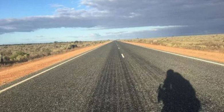 Bersepeda 5.500 Kilometer Membelah Australia, Penuh Tantangan Mental