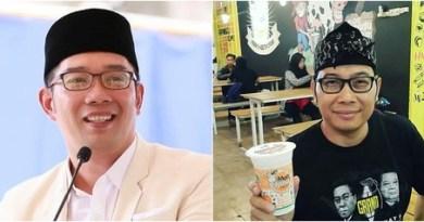 Ridwan Kamil buka Bersama Dengan Kembarannya