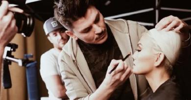 Agnes Monica Didandani Oleh Make-up Artist Kim Kardashian