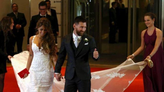 Lionel Messi Nikahi Kekasihnya, Media Lokal: Pernikahan Abad ini