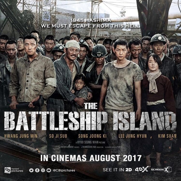 Sebentar Lagi Battleship Island Akan Tayang di CGV Indonesia
