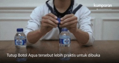 Soal Tutup Botol Aqua Banjir Pertanyaan di Twitter