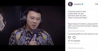 Ahok Posting Ini Ribuan Netizen Terharu di HUT RI ke-72