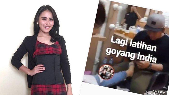 Netizen Ilfeel, Ayu Ting Ting Taro Kaki di Selangkangan Cowok