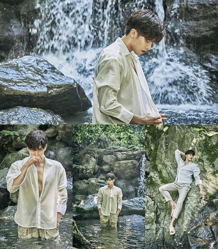 Pemotretan di Kolam Renang Pemeran My Secret Romance Sung Hoon