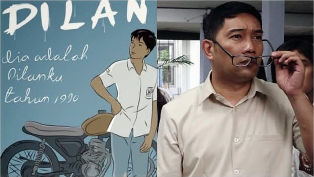 Ridwan Kamil Shooting Film Dilan jadi Seorang cameo