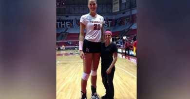 Dana Rettke, Pemain Voli Wanita dengan Tinggi Badan Lebih dari 2 Meter