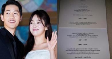 Video dan Foto Momen Pernikahan Song Jong Ki dan Song Hye Kyo