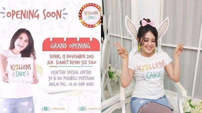 Grand Opening Toko Kue Via Vallen Mulai Jam 01.00 Dini Hari Nanti!