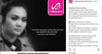 Netizen Greget Soal Polemik Iklan Rabbani yang Sindir Rina Nose, Ternyata...