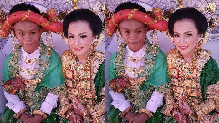 Sepasang Remaja Berusia 16 Tahun Resmi Menikah