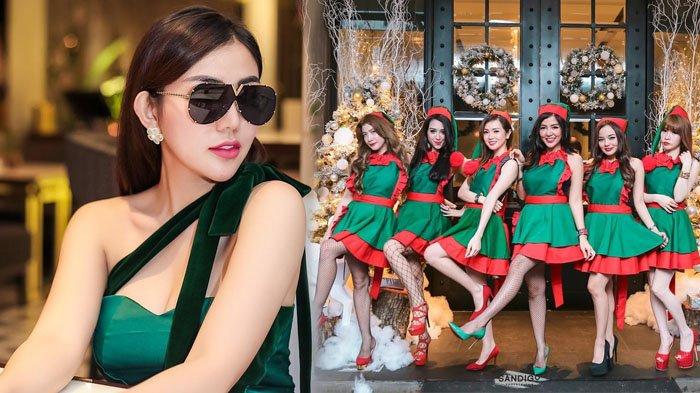 Bella Shofie dan Geng Arisan Pakai Dress Code Seksi, Netizen: Kayak SPG Mall