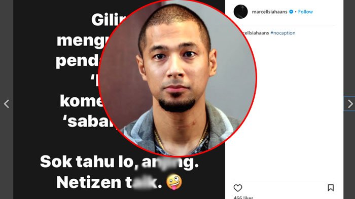 Marcell Siahaan Kesel, Tiba-Tiba Maki Netizen Sampai Sebut Nama Binatang