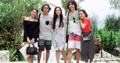 Intip Keseruan Keluarga Maia Estianty Saat Liburan di Bali
