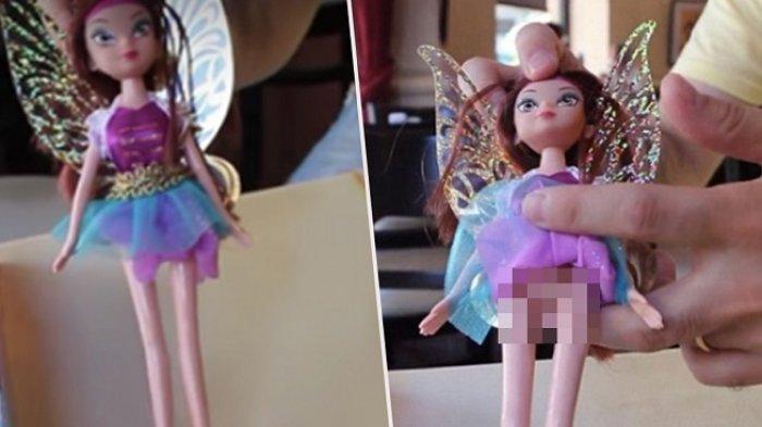 Boneka Cewek Ini Sekilas Terlihat Biasa, Saat Roknya Diangkat Hal Janggal Terungkap