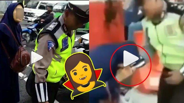 Emak-Emak yang Gigit Oknum Polisi Ternyata Alami Gangguan Jiwa