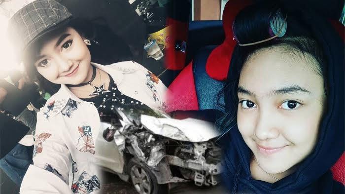 Jihan Audy Pendangdut Cantik Alami Kecelakaan Mobil, Begini Kondisinya