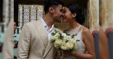 3 Ciuman Romantis Chicco Jerikho dan Putri Marino Setelah Resmi Menikah