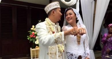 Chef Aiko Telah Resmi Menikah Dengan Saugi Balfas