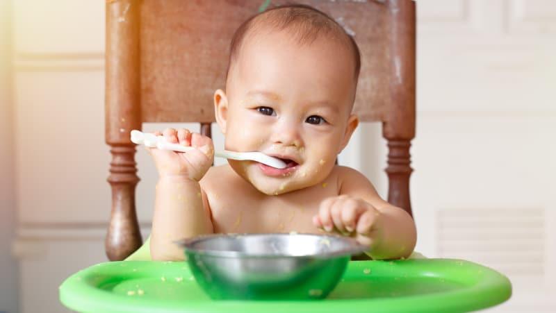 Mana Lebih Sehat, Bayam Hijau Atau Bayam Merah untuk Bayi