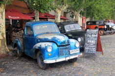 Carros antigos preservados, Colônia del Sacramento