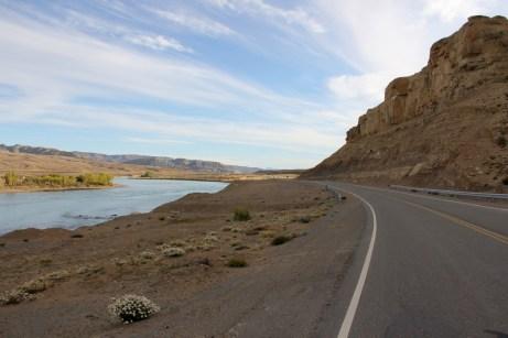 Ruta 40, deixando El Calafate para trás