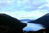 Belíssima vista para o Lago Escondido, a poucos quilômetros de Ushuaia