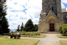 A igreja foi inaugurada em 1946