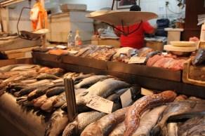 Banca de peixes, Mercado Central