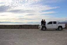 Parávamos toda hora para contemplar as paisagens...