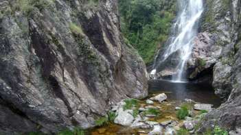 A primeira vista da segunda cachoeira