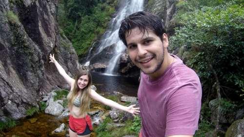 O dia escurecia e tínhamos que nos despedir da segunda cachoeira de Capão-Fôrro
