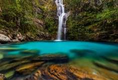 A Cachoeira de Santa Bárbara, Chapada dos Veadeiros