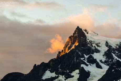 Pôr do sol nas montanhas, Torres del Paine